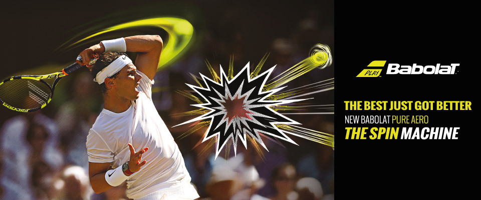 Tenni3 shop babolat Rafael Nadal