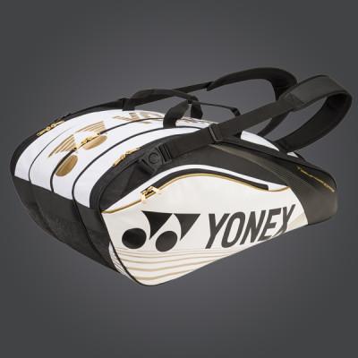 yonex pro series borsone 2016 white gold black yonex tennis