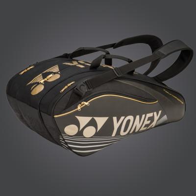 yonex pro series borsone 2016 gold black yonex tennis