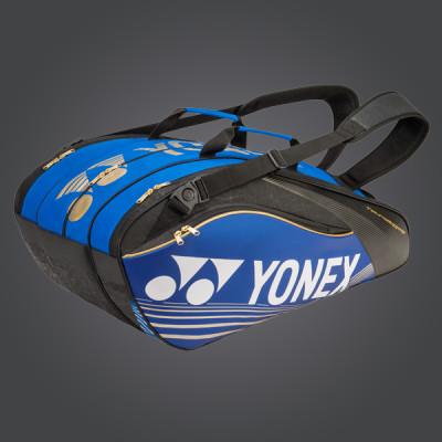 yonex pro series borsone 2016 blu gold black yonex tennis
