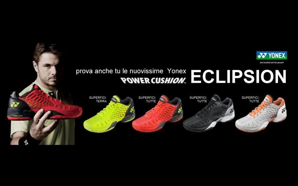 scarpa yonex PC eclipsion clay uomo e donna 2016