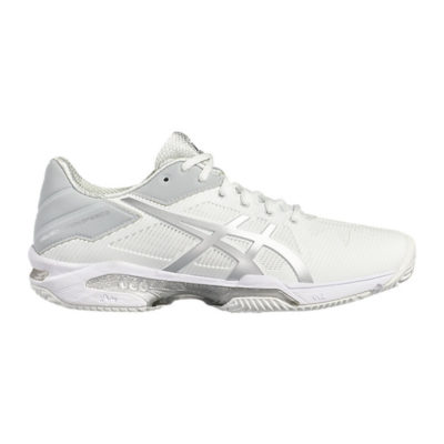 scarpa asics gel solution speed 3 clay donna bianco silver novità 2017 tennis3.it