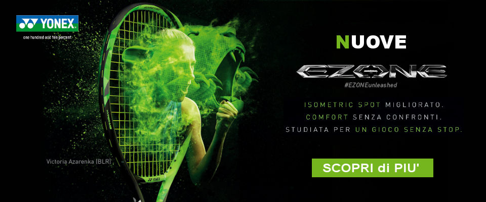 negozio tennis online yonex ezone