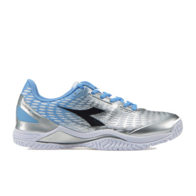 Diadora Speed Blushield 3 Clay Donna Scarpa da tennis (biancoargento)